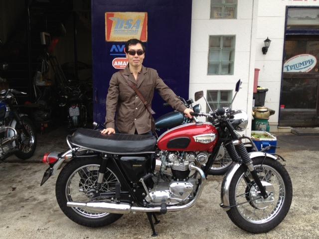 ★1969 Triumph Bonneville「横浜市:小川様」
