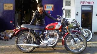 1970 TRIUMPH T120R
